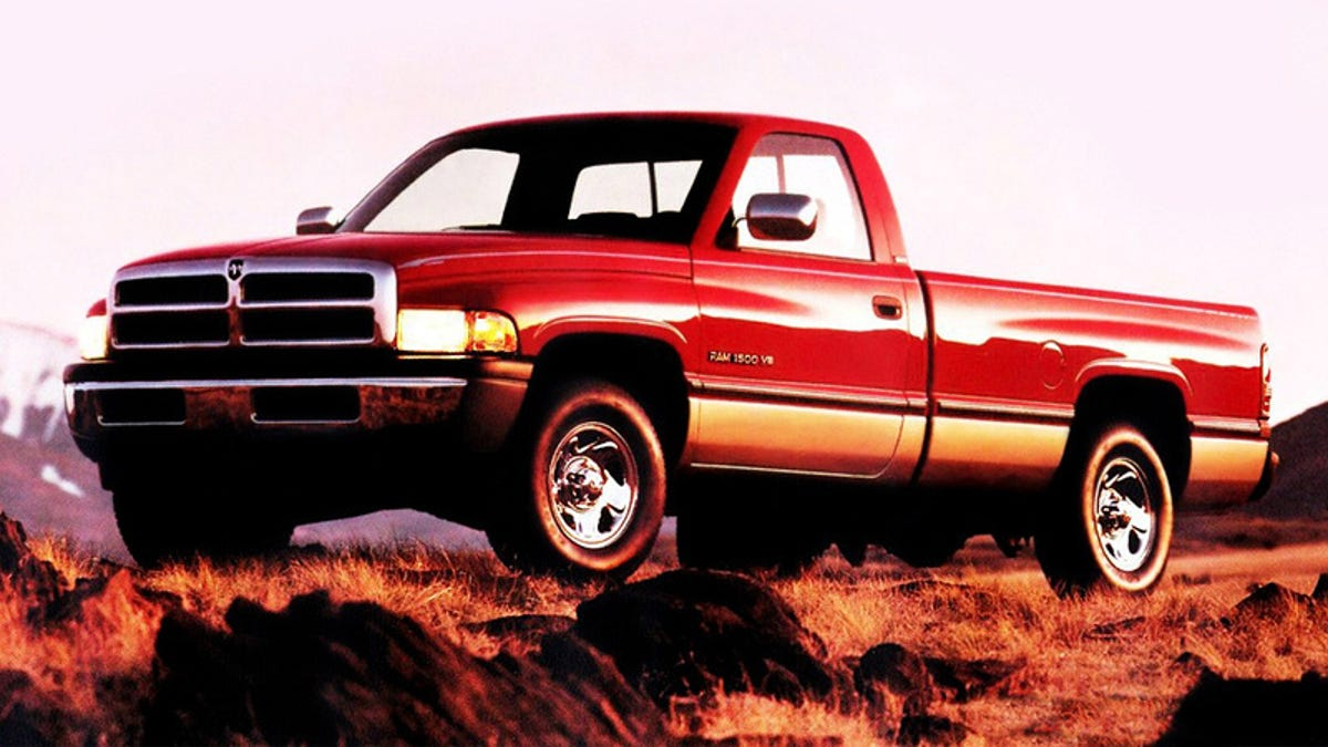 The Original Design For The Second Gen Dodge Ram Was A Styling Disaster