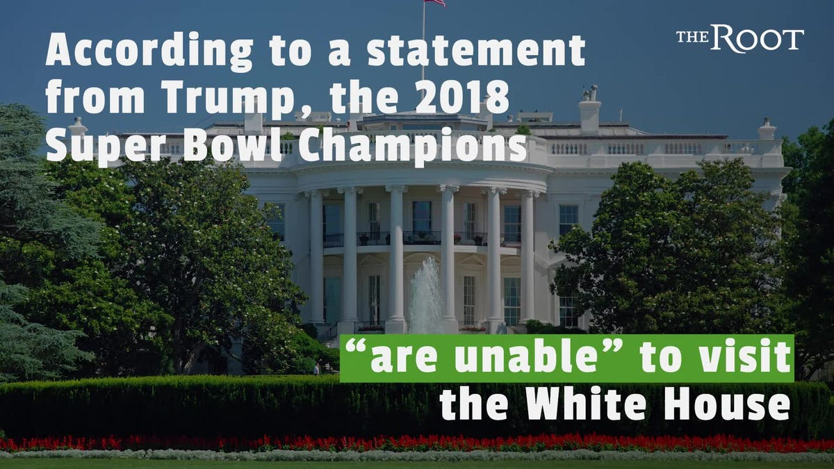 Eagles 'Disinvited' From the White House Because Trump Is Petty
