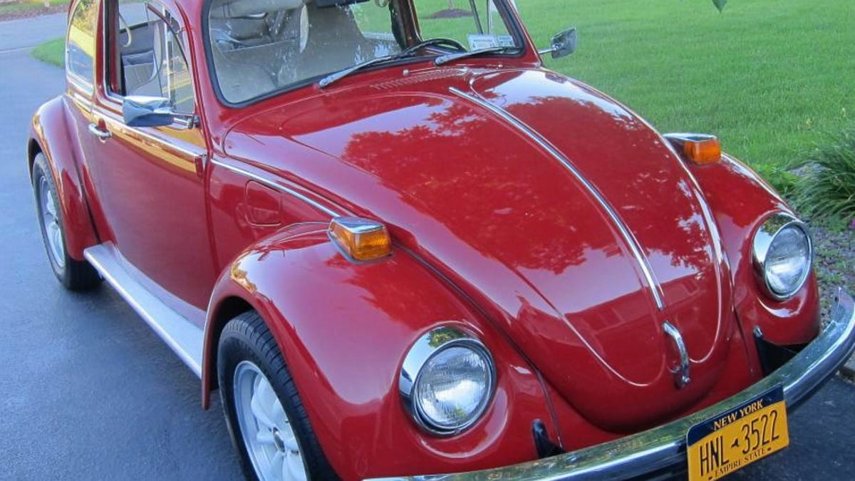 For 7 500 Could This 1970 Vw Beetle Have You Bugging Out