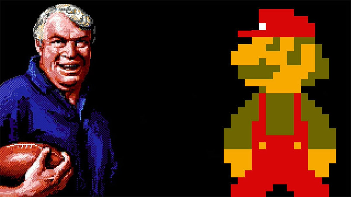 Boom! It's Super Mario Bros. With John Madden's Commentary