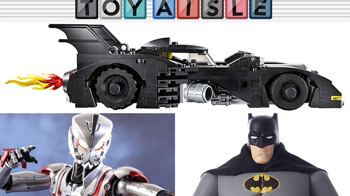 An Even Smaller Lego 1989 Batmobile Races Into the Best Toys of the Week