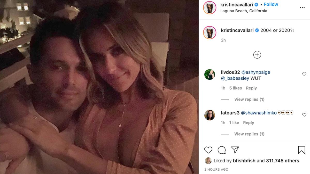 Twist! Kristin Cavallari Posts Up With Ex-Boyfriend and Laguna Beach Costar Stephen Colletti