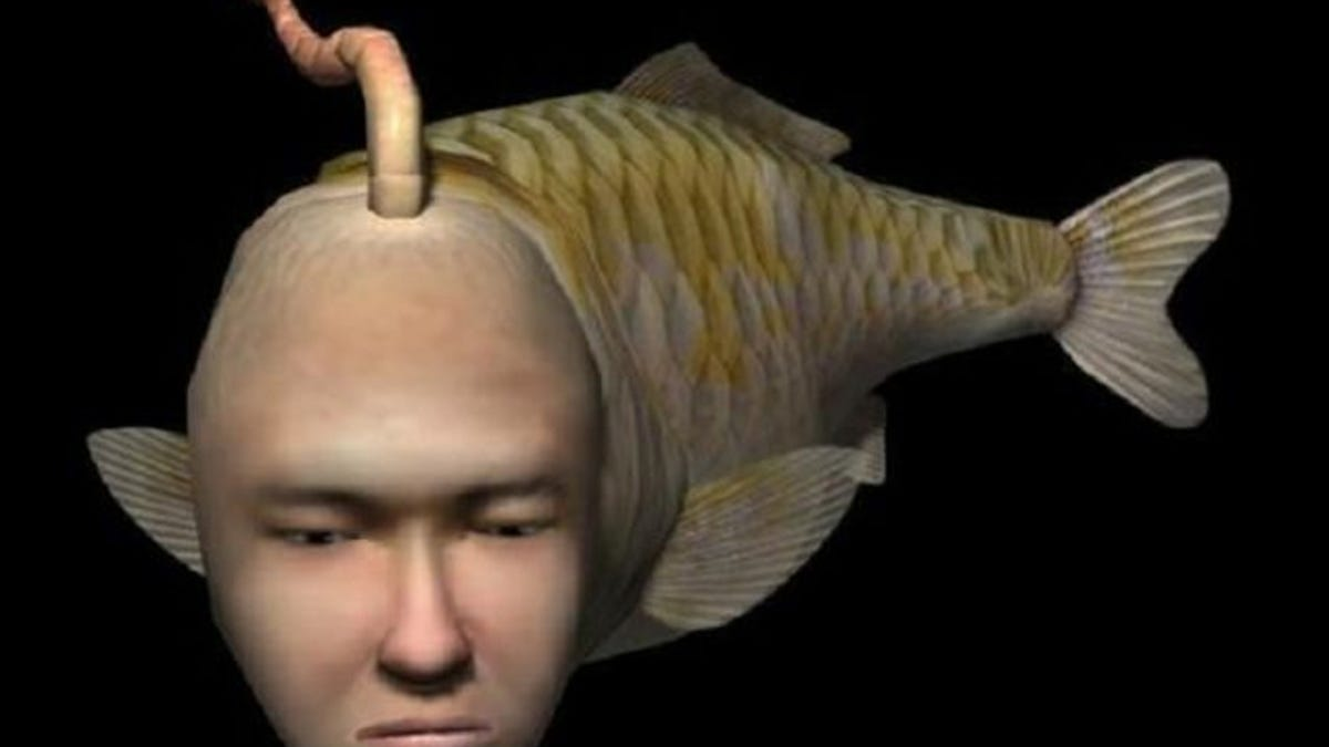Dreamcast Weird Fish Game 6