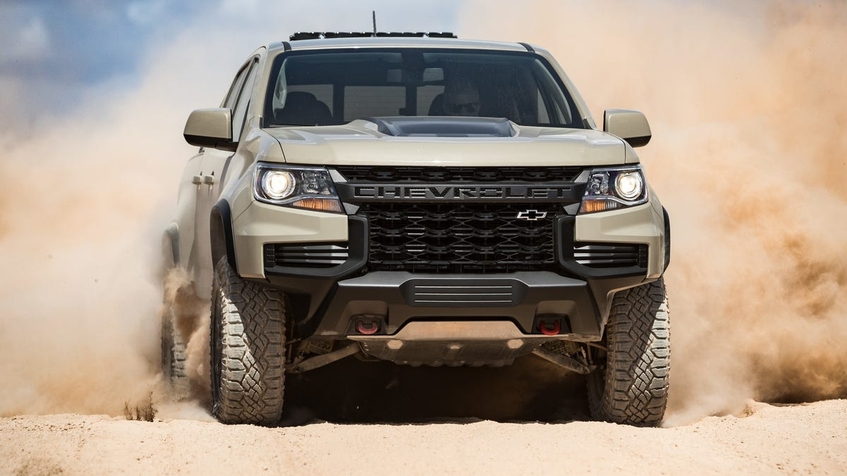 The 2021 Chevrolet Colorado ZR2 Gets A Mean New Face And A ...