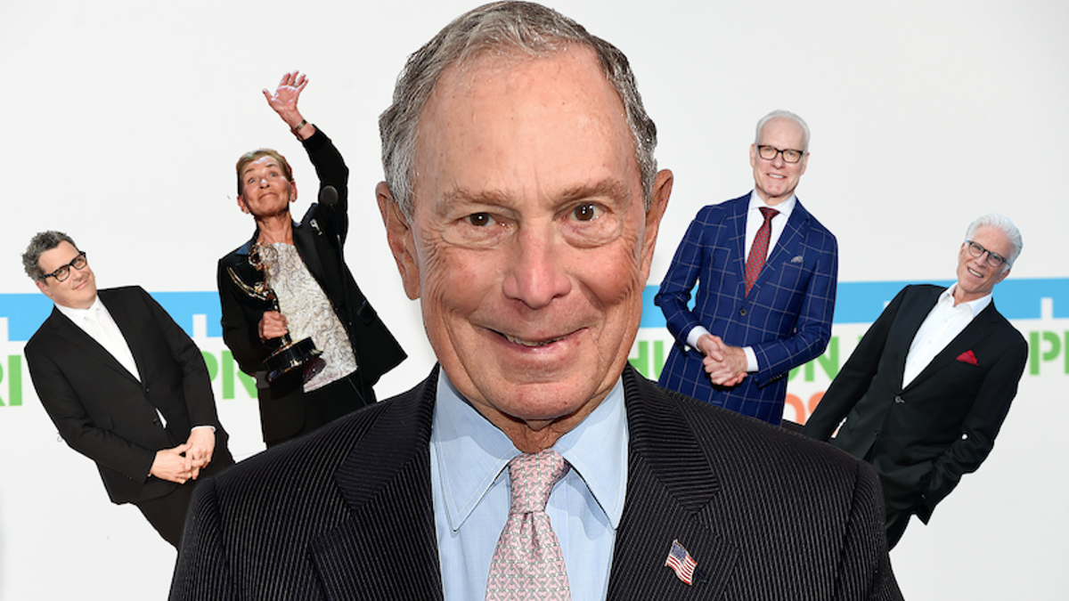 Michael Bloomberg's Growing Sphere of Influencers and Celebs