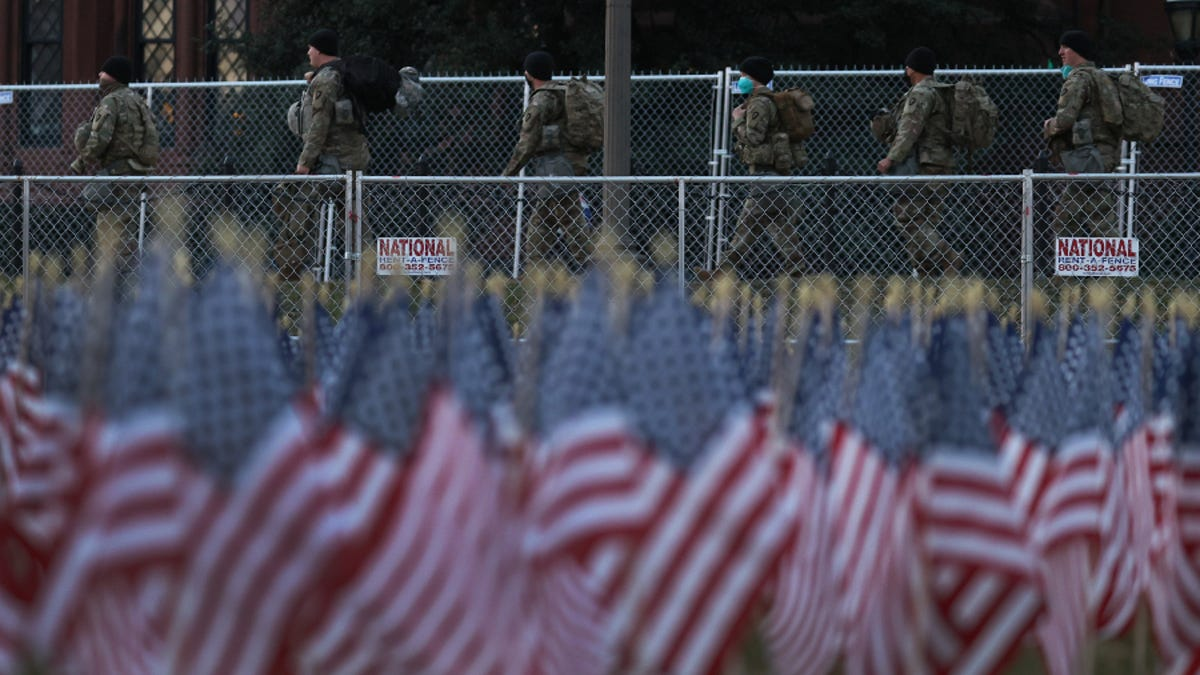 FBI to Screen Around 25,000 National Guard Members Fearing Possible Insider Attack on Inauguration Day