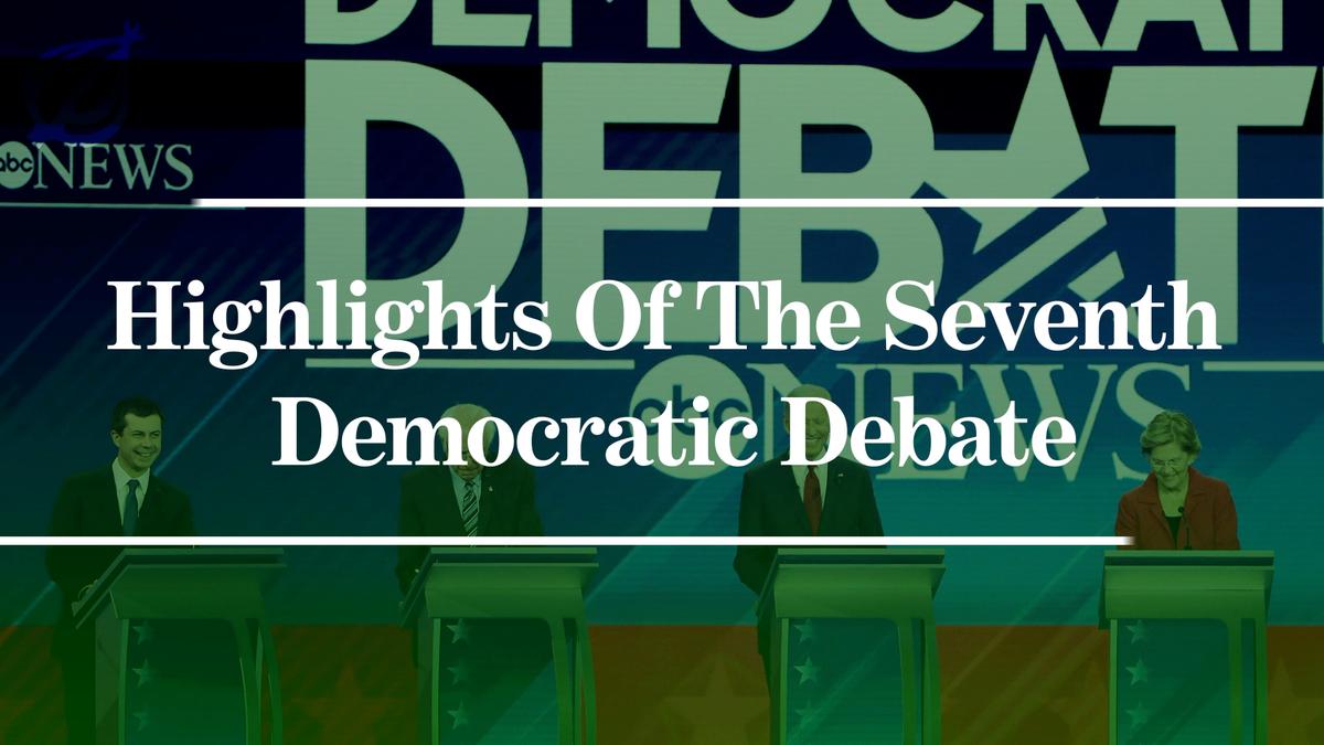 Highlights Der Siebten Demokratische Debatte