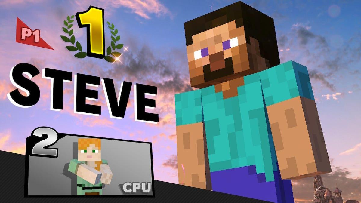 Nintendo Nerfs Steve's Meat