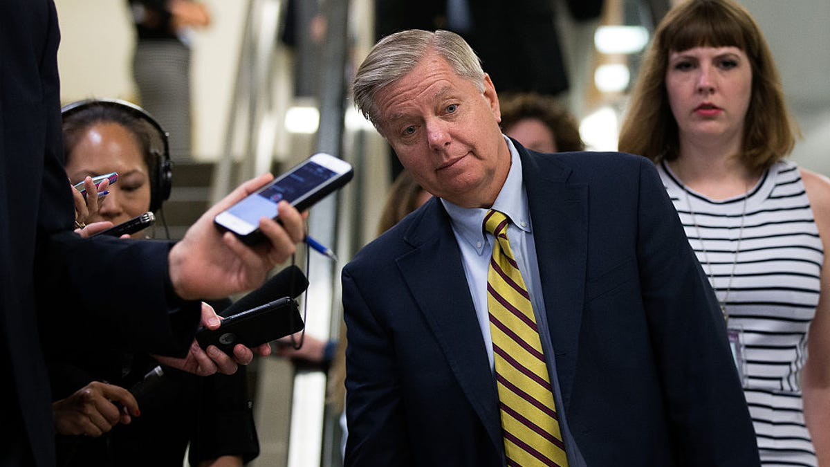 South Carolina Sen. Lindsey Graham Is Willing to Risk It All for Love