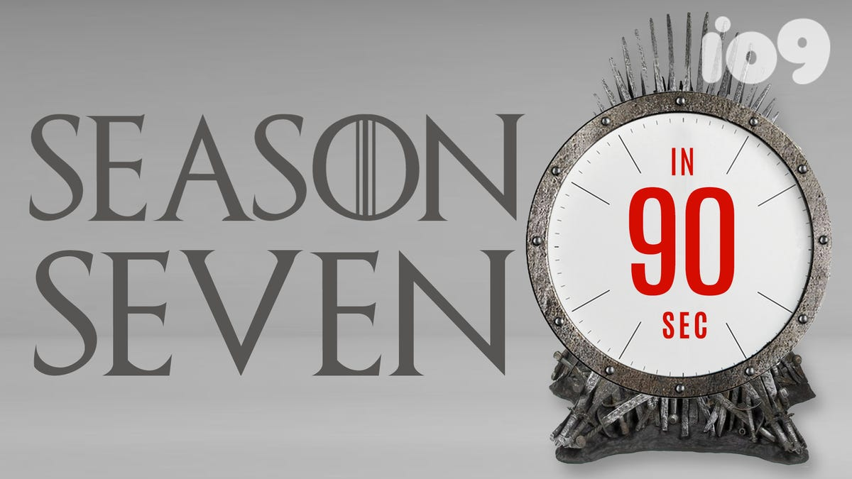 Everything You Need to Remember From Game of Thrones Season 7 in 90 Seconds