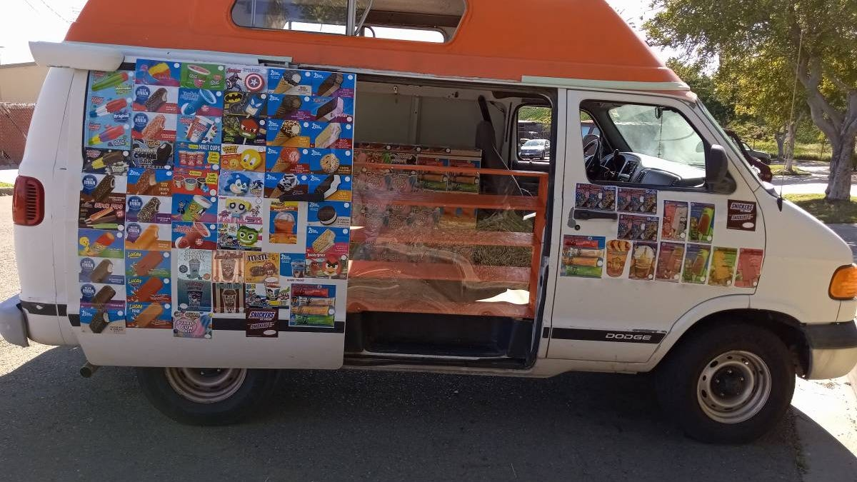At $6,500, Is This 1999 Dodge Ram Ice Cream Van A Good Deal?