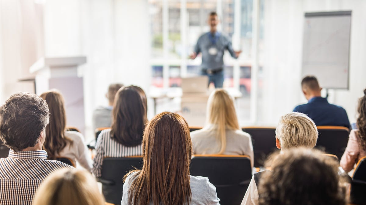 Reduce Anxiety When Public Speaking By Thinking About How You're Helping the Audience