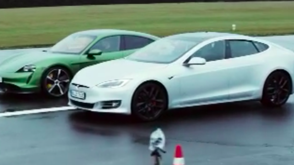Porsche Taycan Defeats Tesla Model S In Acceleration, Handling, And Build Quality In German Comparison Test