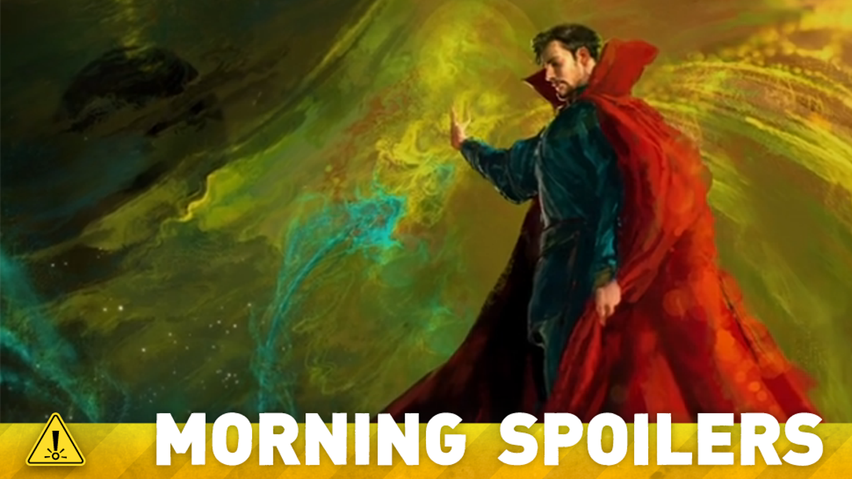 A New Doctor Strange Set Picture Teases Some Major Marvel Mysticism!
