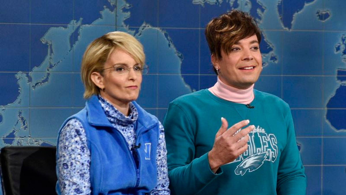 Tina Fey defends Jimmy Fallon's election coverage