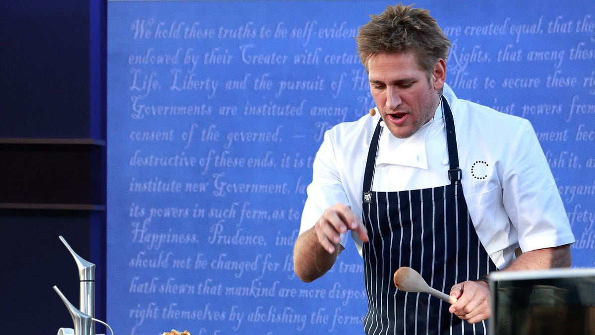 Kristen Welker Mutes Candidates So Celebrity Chef Curtis Stone Can Demonstrate How To Make Perfect 15-Minute Fajitas - the onion