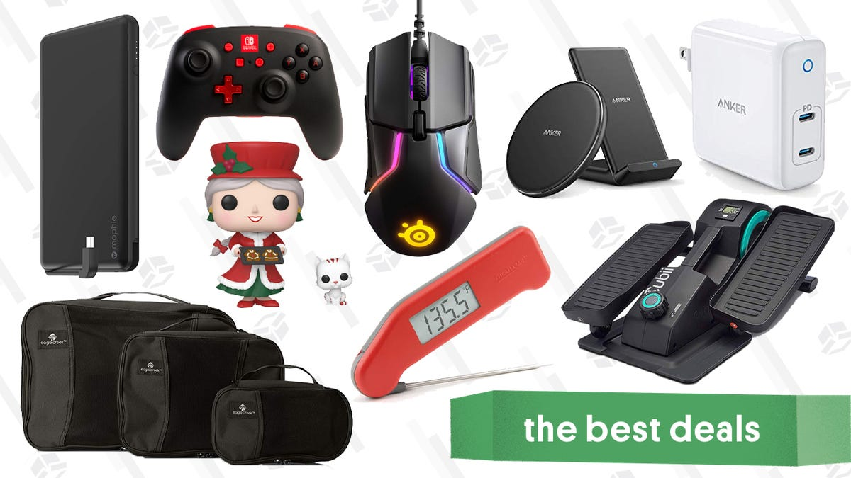 Tuesday's Best Deals: Thermapen, PowerA Controller, Packing Cubes, Mrs. Claus Funko, and More