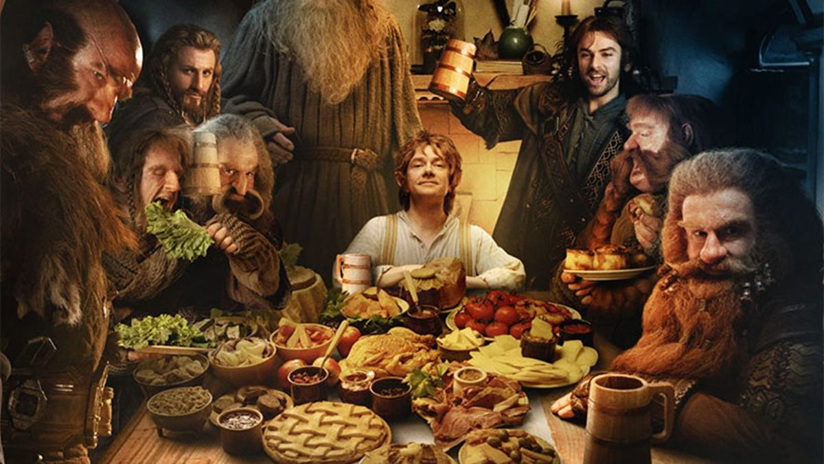 Lord Of The Rings Online Hobbit Hits Level Cap By Baking Pies