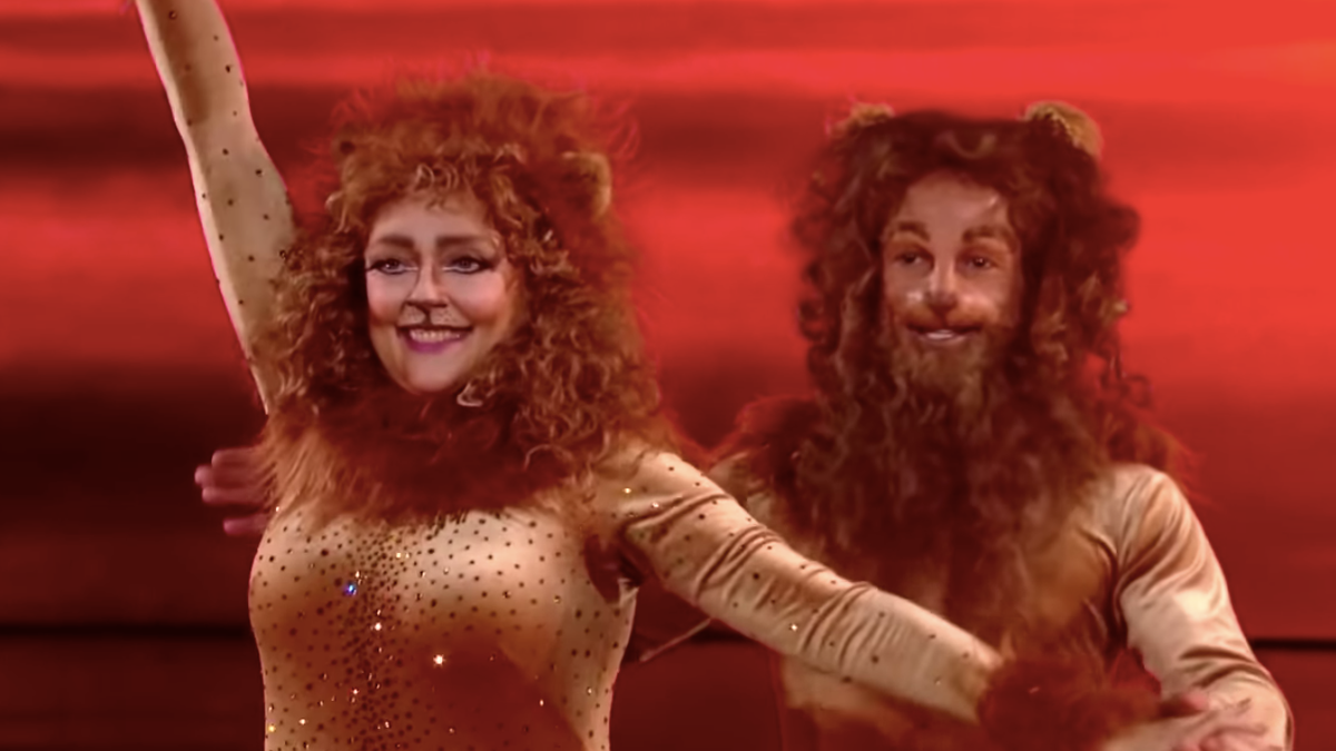 See the Simba samba that got Carole Baskin booted from DWTS