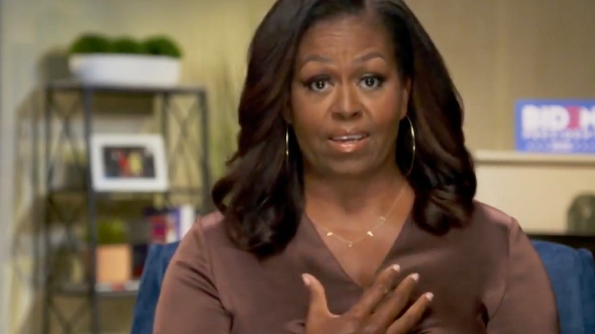 When They Go Low: Michelle Obama Responds to the Capitol Insurrection, Says 'I Hurt for Our Country'