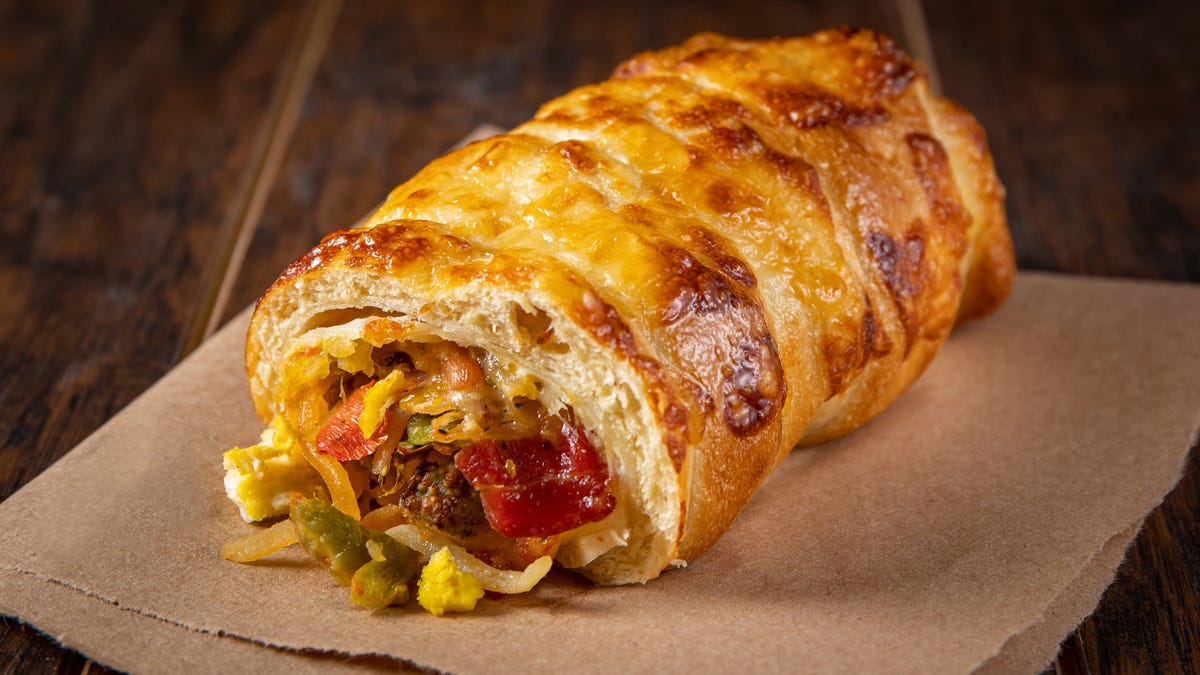 The Bagelrito is a literal hot mess, but it has a confidence you can only dream of