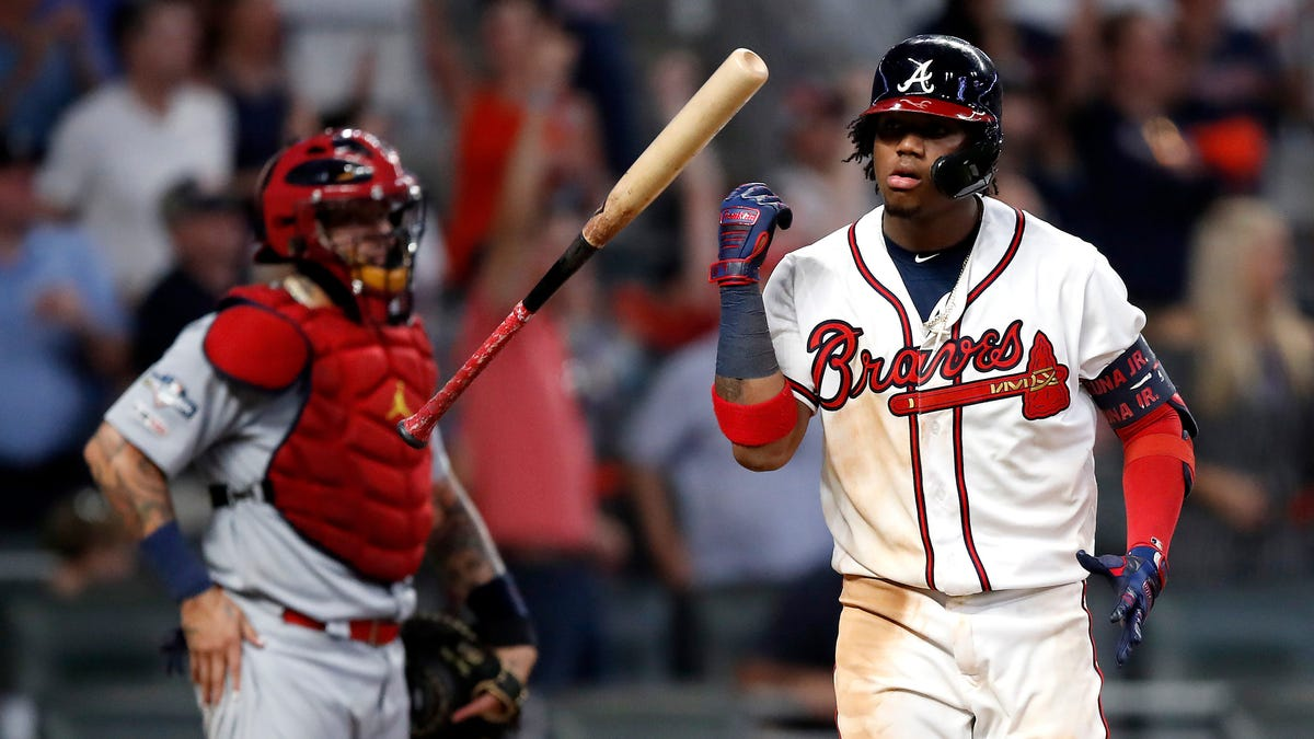 Everyone Mad At Ronald Acuña Jr. Over Baserunning