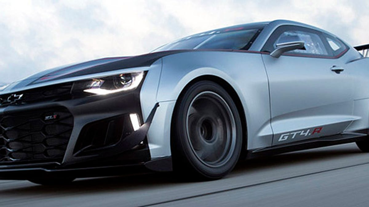 There's Already A Racing Version Of The New Chevrolet Camaro ZL1 1LE