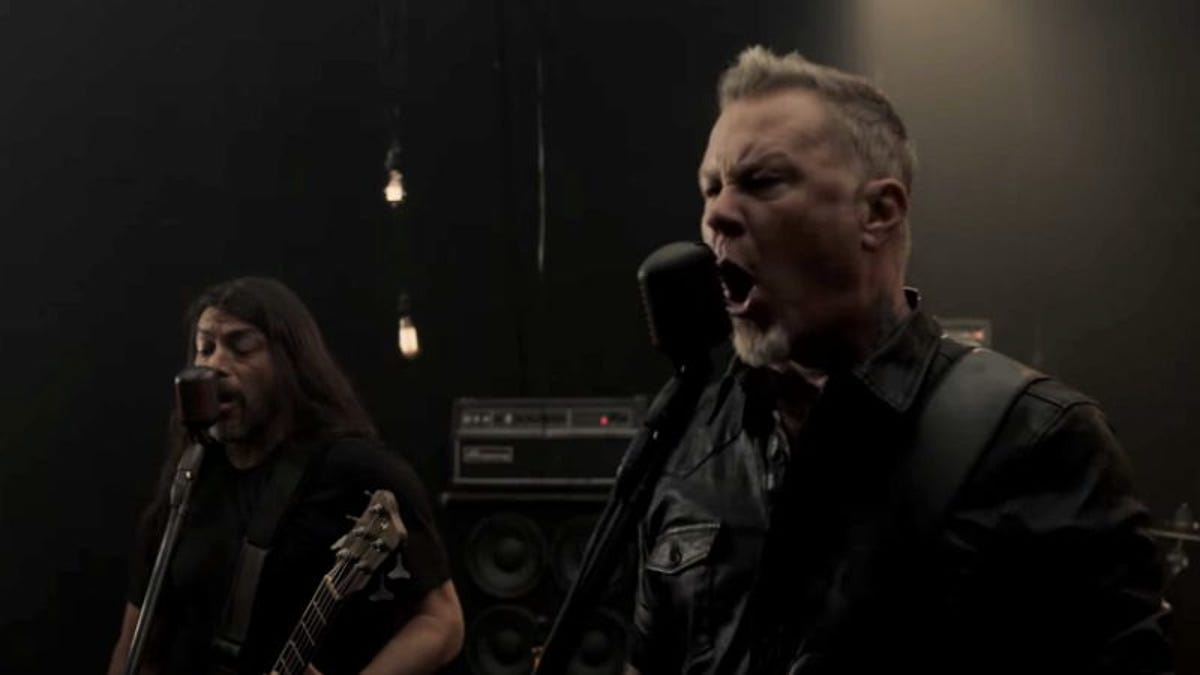 Metallica just dumped its entire new album onto YouTube