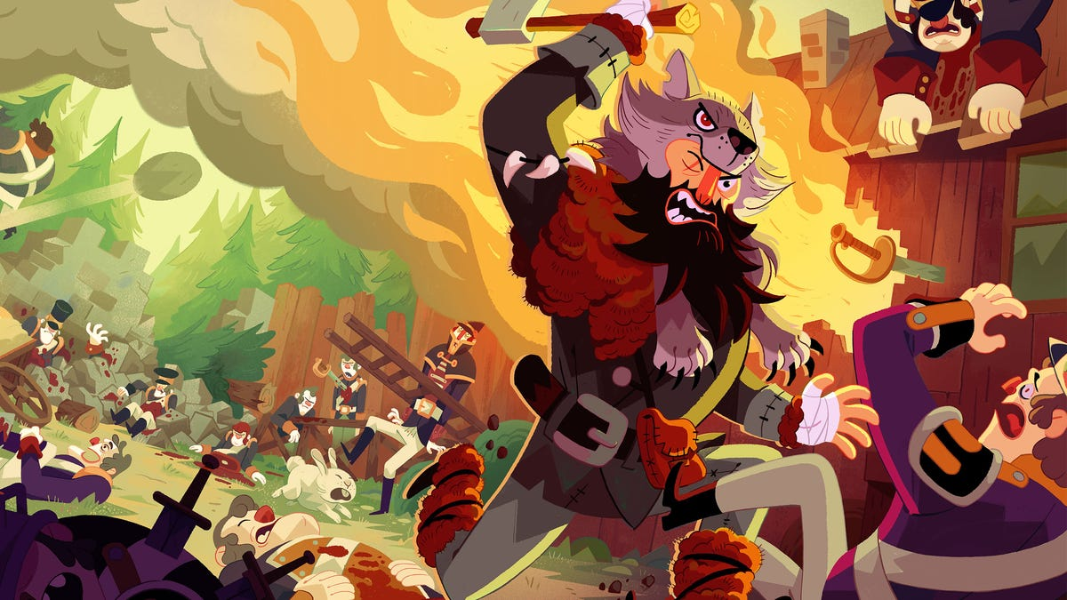 Bloodroots Is A Western Brawler Where Everything Is Your Weapon