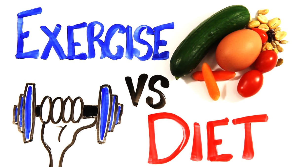 Why Diet Matters More than Exercise For Weight Loss, In One Video