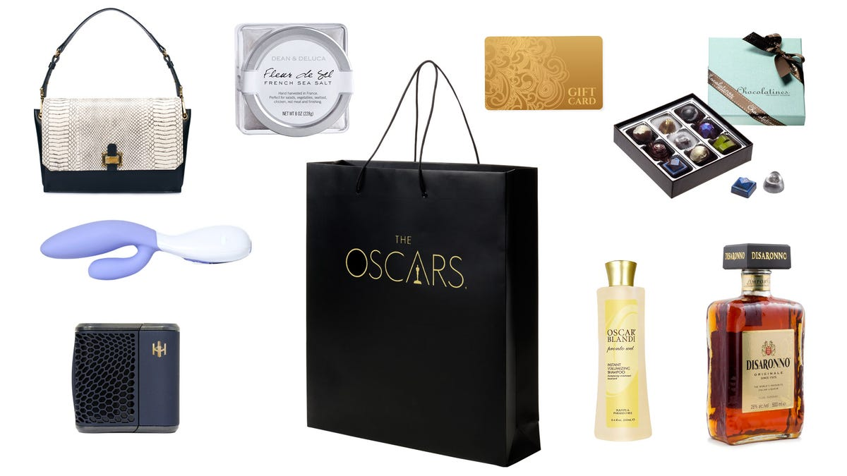 Inside The 125 000 Oscar Gift Bag