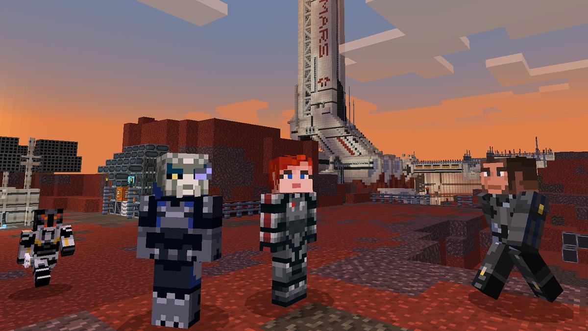 Mass Effect Returns To Minecraft Seven Years Later - Kotaku