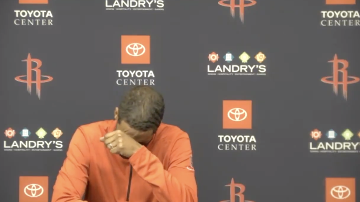 Houston Rockets End 20-Game Losing Streak, But Please Keep Coach Stephen Silas In Your Thoughts and Prayers