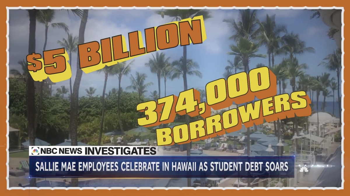 Sallie Mae Flew More Than 100 Employees to Hawaii to Celebrate $5 Billion in Sales