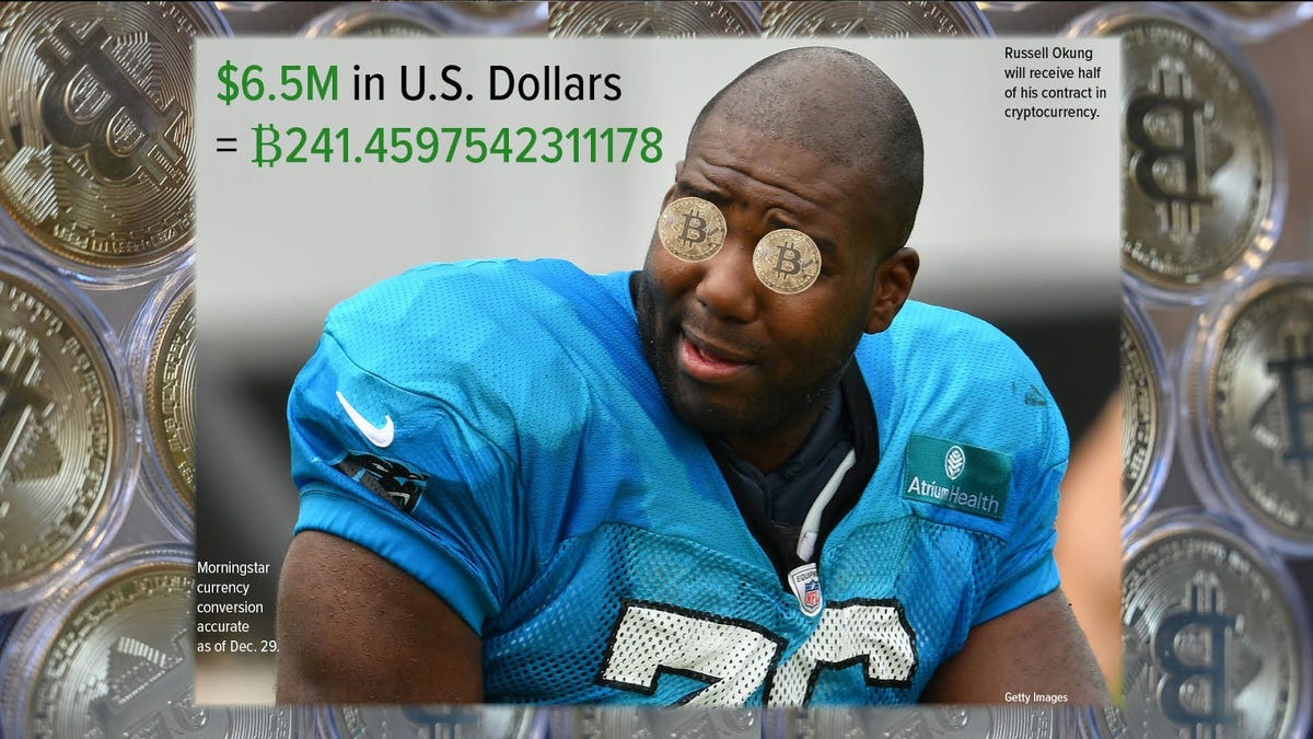 Russell Okung becomes first NFL player to get paid in Bitcoin