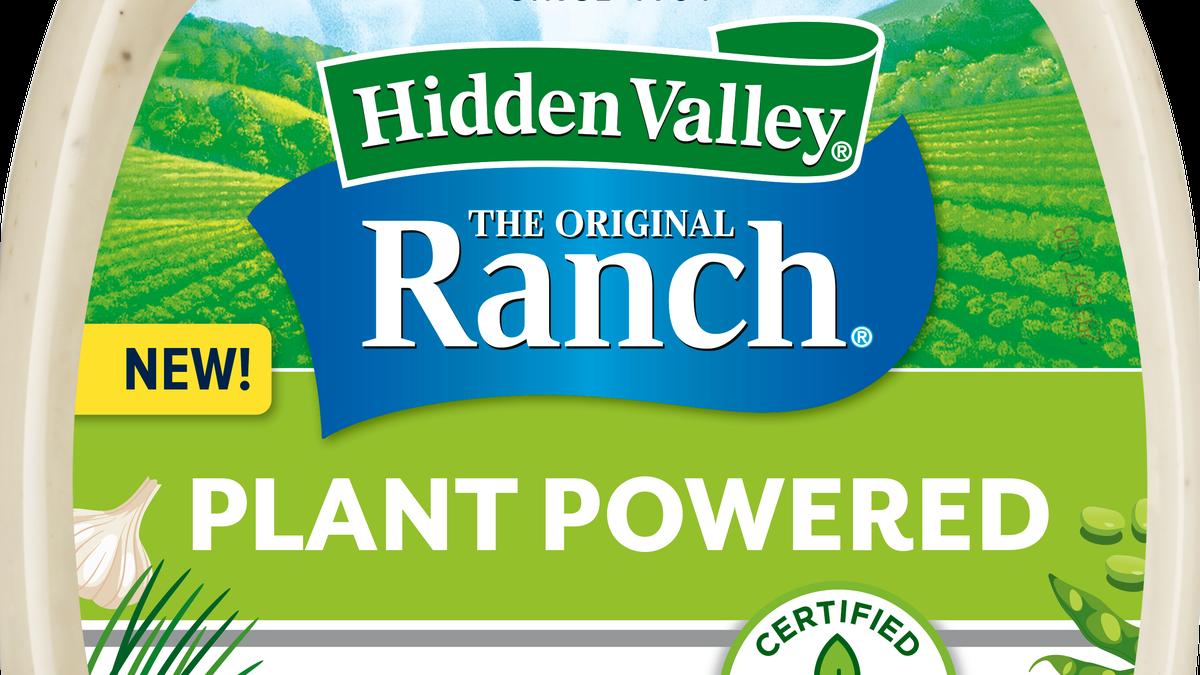 Hidden Valley's got a new vegan ranch to pair with your buffalo cauliflower