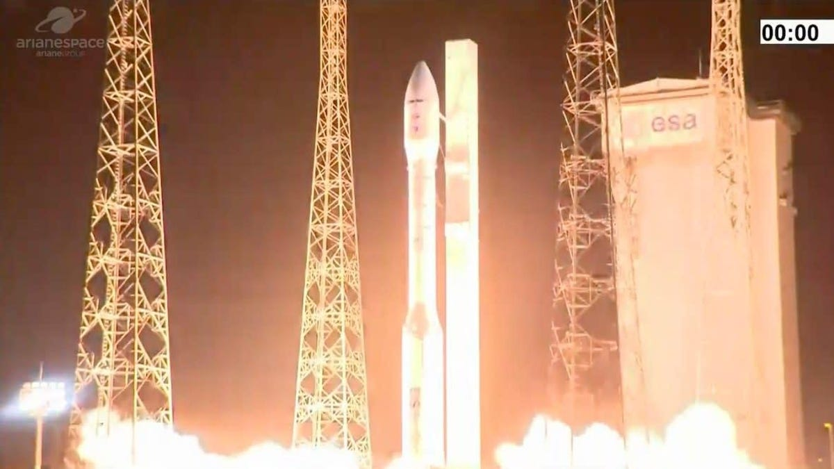 Vega Rocket Failure Apparently Caused by Human Error