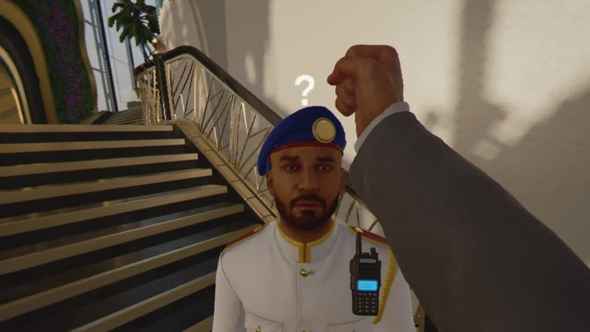 Help, I can't stop KABONK-ing people in Hitman 3 VR