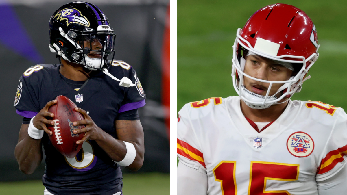 Lamar Jackson is not on Patrick Mahomes' level, because nobody is