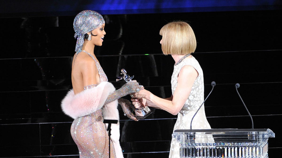 Rihanna Is Fine With Anna Wintour Asking Whether She's Pregnant