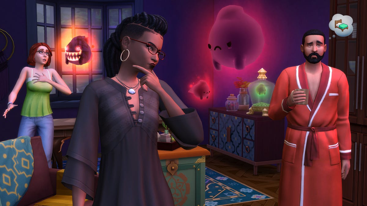 The Sims 4 Is Now A Horror Game, Thanks To The Paranormal Stuff Pack