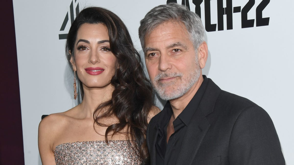 George Clooney's Twin Toddlers Speak Fluent Italian, Unlike Their Parents, and I Welcome Our New Overlords