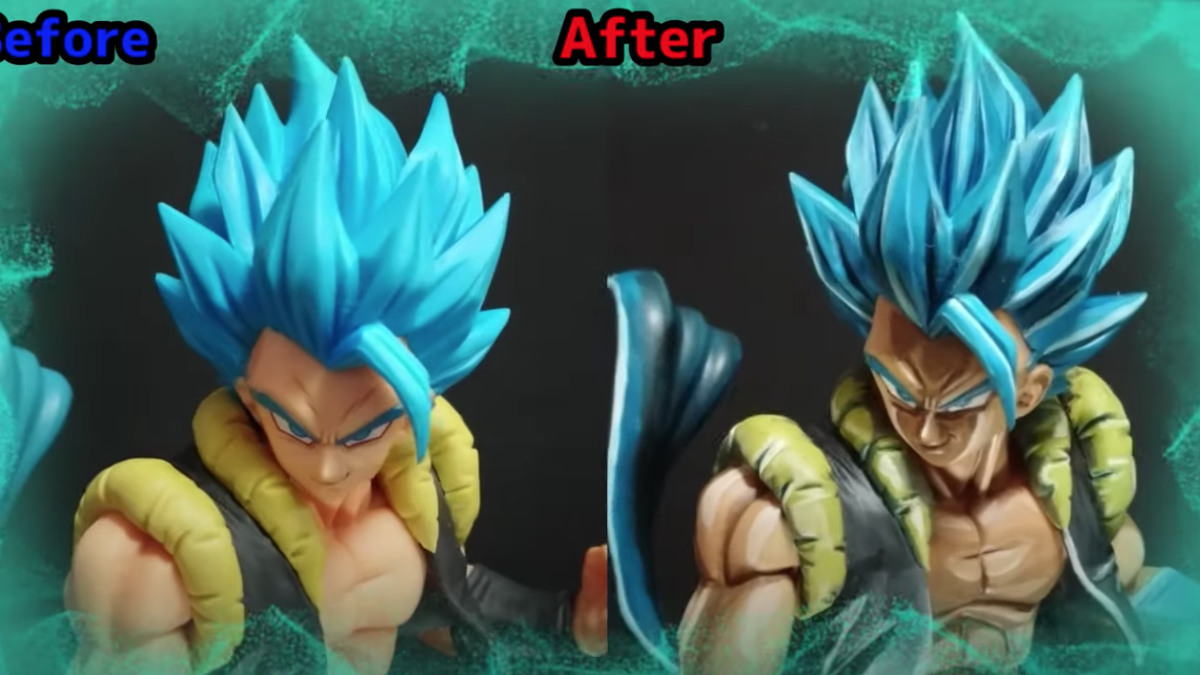 Dragonball Figures Look Even Cooler With New Paint Jobs