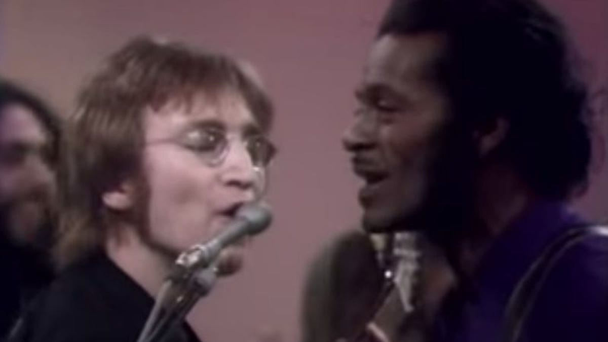 Things quickly got weird for John Lennon on The Mike Douglas Show