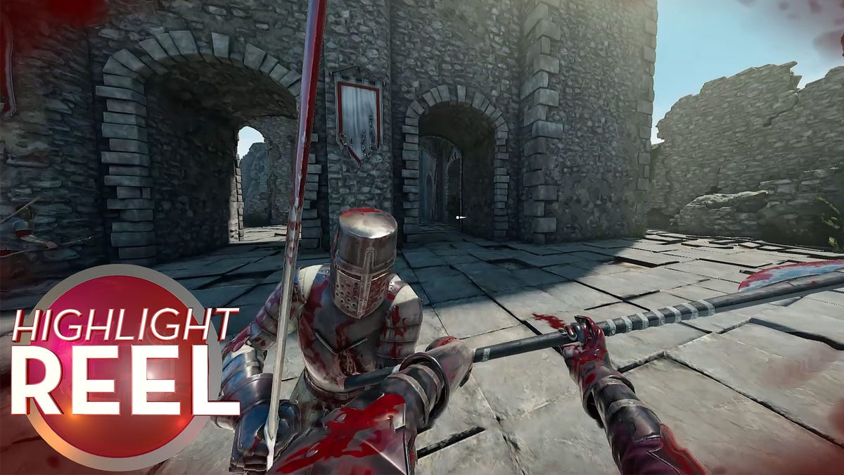 Mordhau Knight Punts Own Head