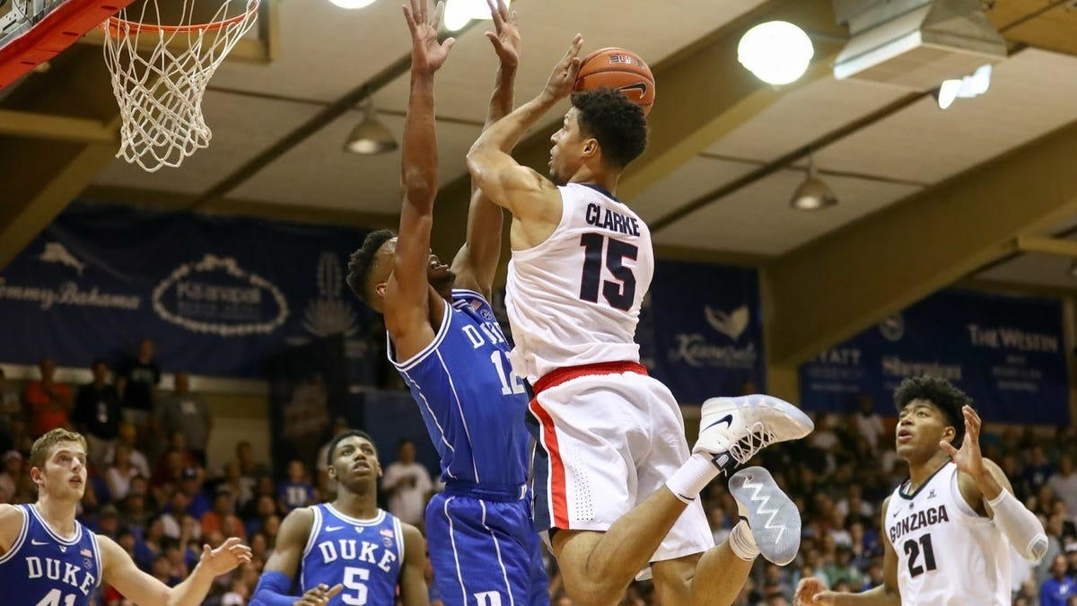 Duke vs. Gonzaga, both loaded with 5-star recruits, is already college hoops' biggest event next season