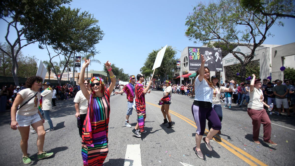 Protest march replaces L.A. Pride parade this year | San