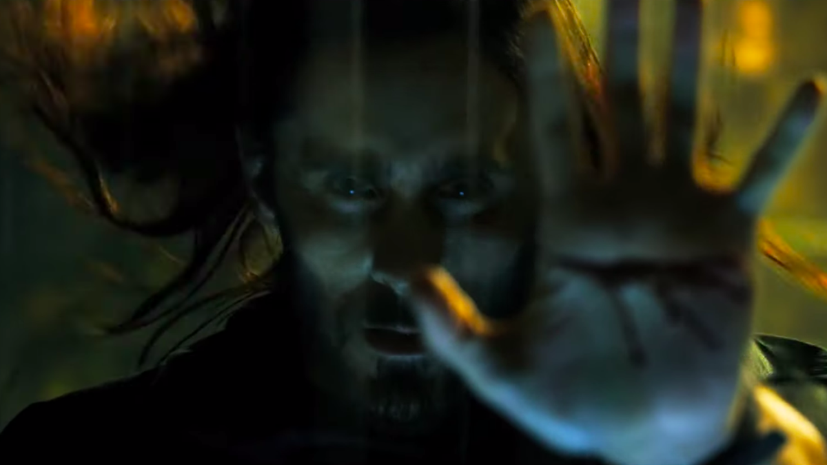 Morbius' First Trailer Is Here and Jared Leto Is Dripping With Blood