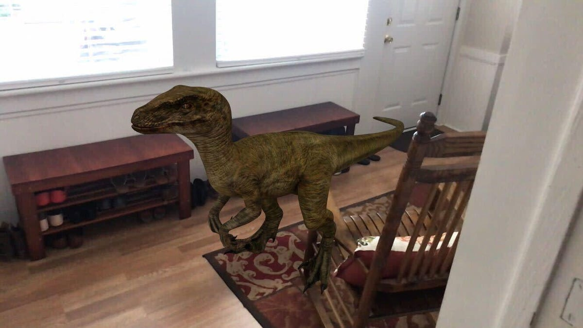 How to View 3D Dinosaurs in Your Own Home