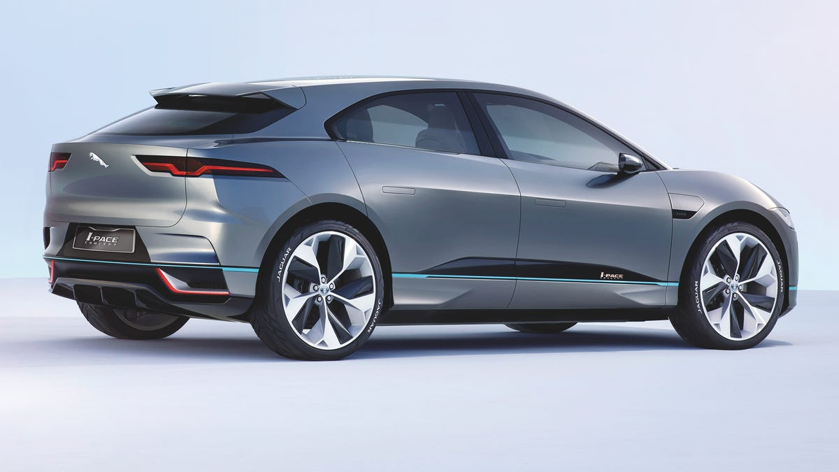 The Jaguar I-Pace Concept Is The Sexiest Electric SUV Anyone's Made Yet
